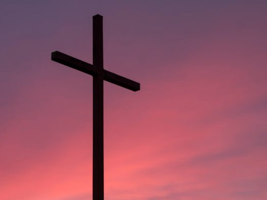Cross image for Lent Aaron Burden Unsplash
